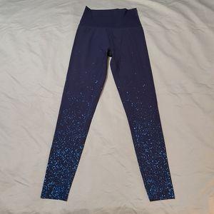 Aerie Navy Blue Stars High Rise Leggings S